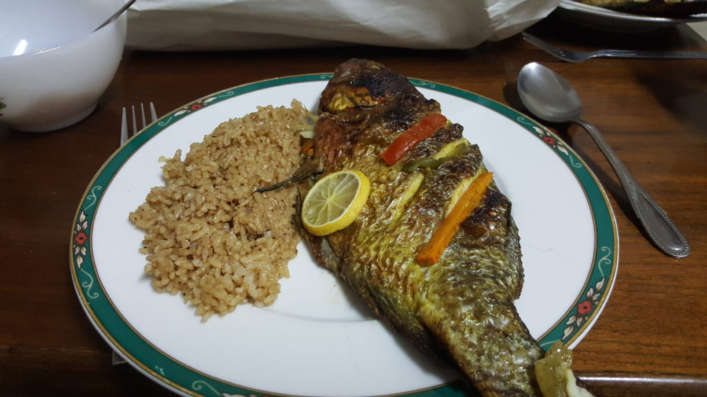 Fish Dinner, Egyptian Stlye