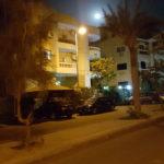 Night over Egypt